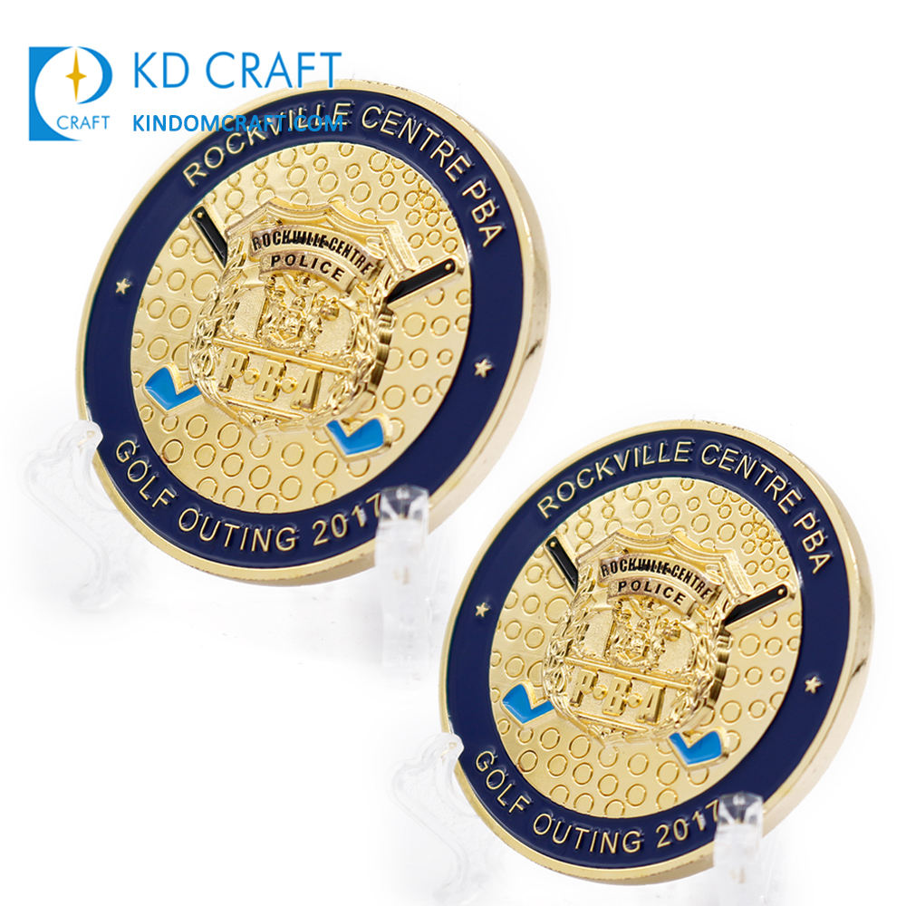 Free sample custom metal brass 스탬핑 soft enamel 양각 3d PBA 조직이 스포츠 golf 도전 coins