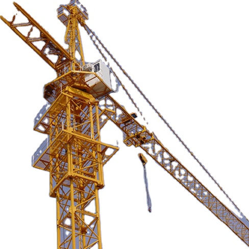 China concrete machinery TC5013 50M 5 ton equipment mobile electric flat-top construction machines tower crane