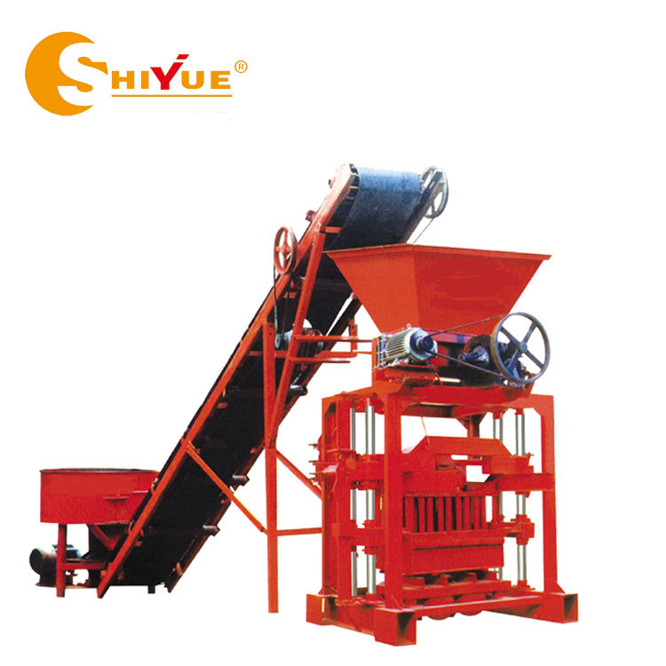 QTJ4-35 brick maker machine hand operated brick making machine