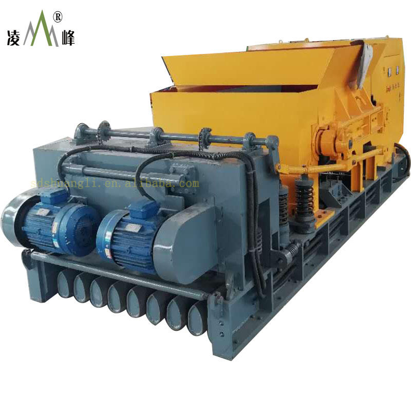 High-strength concrete hollow core slag machine for roofs and floor
