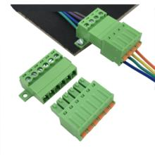 screwless terminal block connector male and female electric wire connector