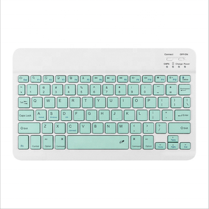2020 New Product 7inch 10inch colorful blue tooth wireless smart keyboard for ipad pro ipad 9.7