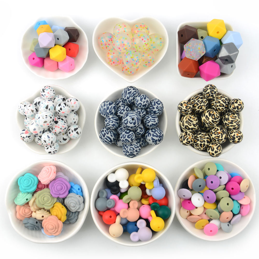 Baby Chewing Silicone Loose Beads