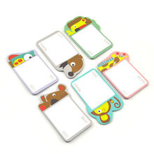 IP character customized sticky notes for kids Promotional sticky notepad custom memo pad