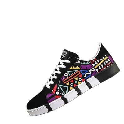 Hot Sale Fashion Casual Men Shoes Sneakers Cheap Printed Men Casual Shoes