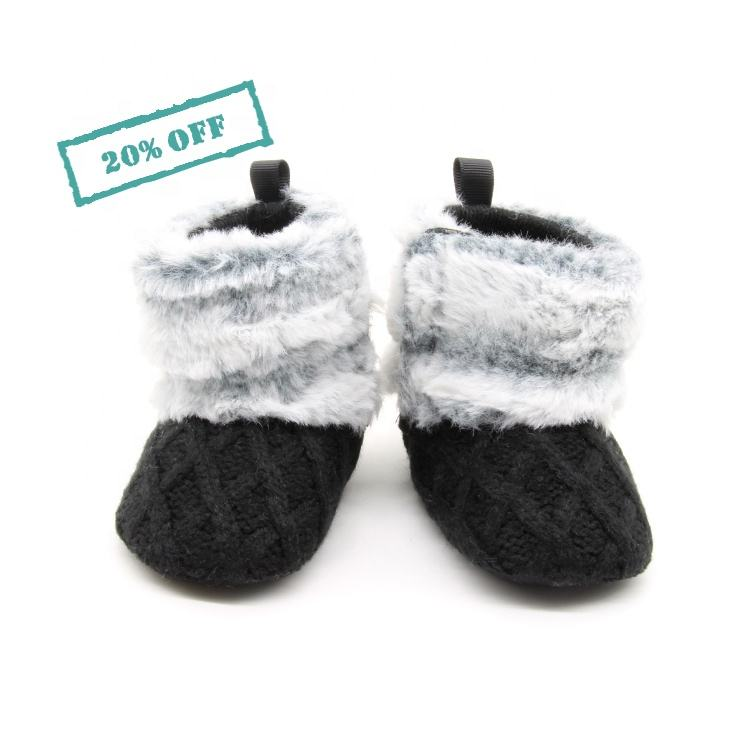 Lovely winter warm baby shoes toddler baby boys girls soft sole booties