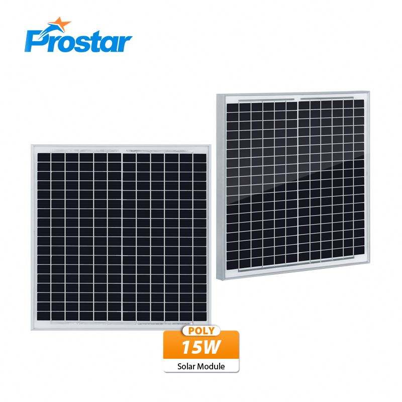 15W Polycrystalline Solar Module 15Wp Small Solar Panel For Solar Energy System