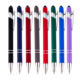 Best Cheap Promotional Metal Biro Touch Screen Ballpoint Pens With Customized Logo Click Pen