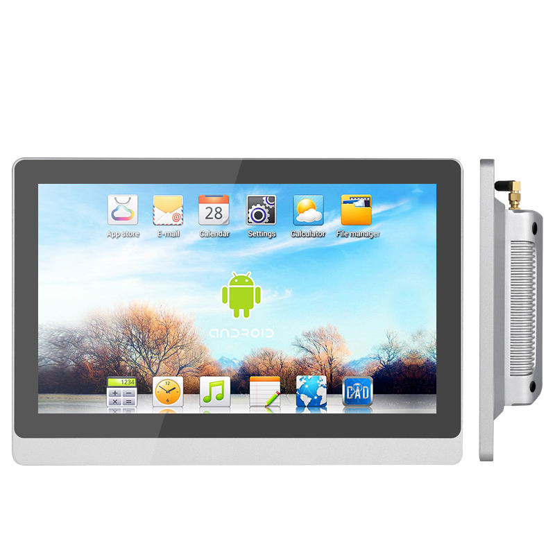 Wall mounted/vesa rugged tablet pc 15.6 17.3 inch widescreen industrial LCD Android touch screen panel PC