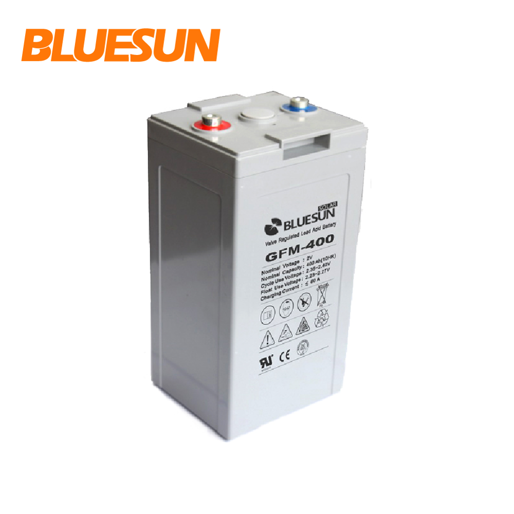Bluesun AGM solar 2v 300ah battery 400ah 500ah 800ah 1000ah deep cycle battery