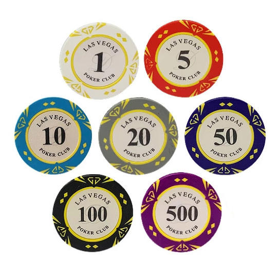 Lasvegas poker chips set clay ascona casino royale stickers diamond 40mm 14g number stioversized ckers for poker chip