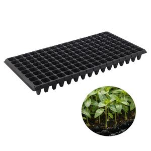 128 cells Plastic Thicken Grow seedling nursery Tray for Starting Plantings Propagation Germination