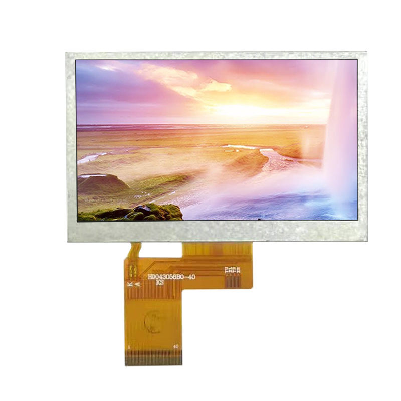 4.3 inch 480x272 IPS/TN TFT LCD RGB interface display with touch panel