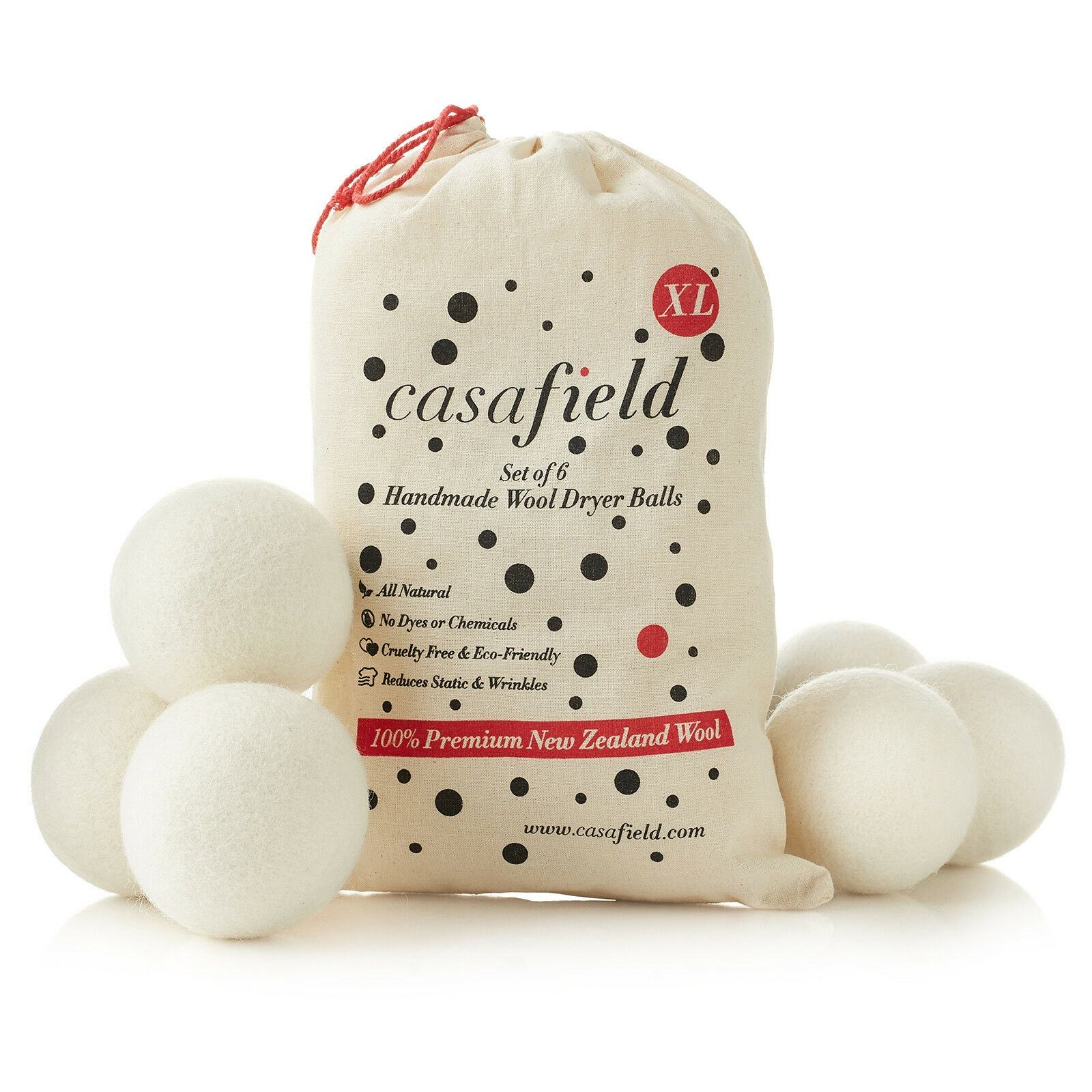 Organic Felt Laundry Eco 100 Australian Wool Dryer Ball With DDP FBA Service