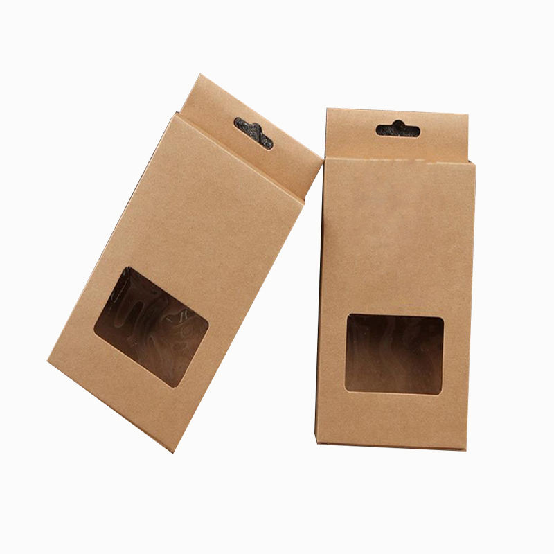 hang foldable custom wholesale mens underwear garment box design packaging