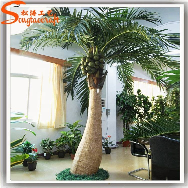 2020 New products Made in China factory wholesale artificial plastic outdoor coconut palm tree for garden decoration home decor
