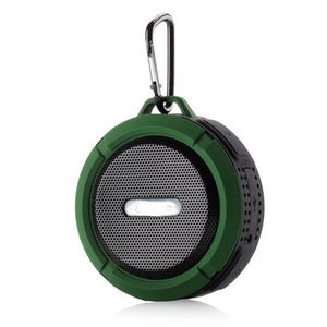 Portable Wireless Speaker With Calls Handsfree and Suction Cup Waterproof BT Shower Speaker MP3 Music Player