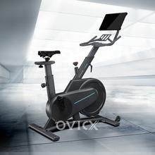 2020 professional Q200-X foldable spin bike with screen stationary spinning bike with 6kg or 6.5kg flywheel