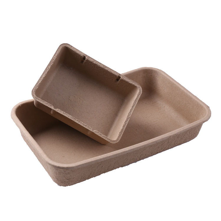 H15-Paper Pulp Molded Disposable Cat Litter Tray
