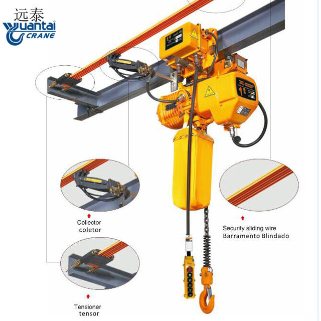 remote control bag stage mode pull lift manual lifting 11.5 2 3 5 ton electric chain block hoist with electric trolley with hook