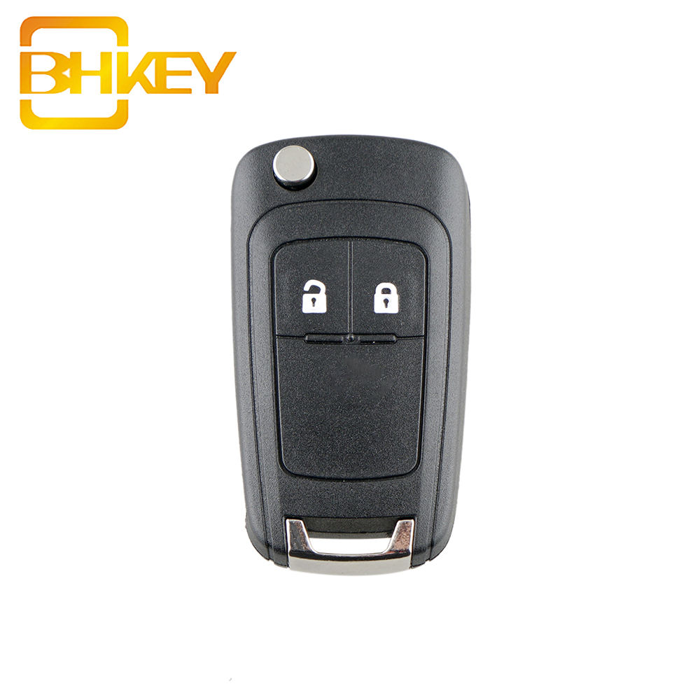 2 Buttons 433 Mhz PCF7946 chip HU100 Blade Flip Folding Key Fob Car Remote Key For Opel Astra J Corsa E Zafira C Vauxhall