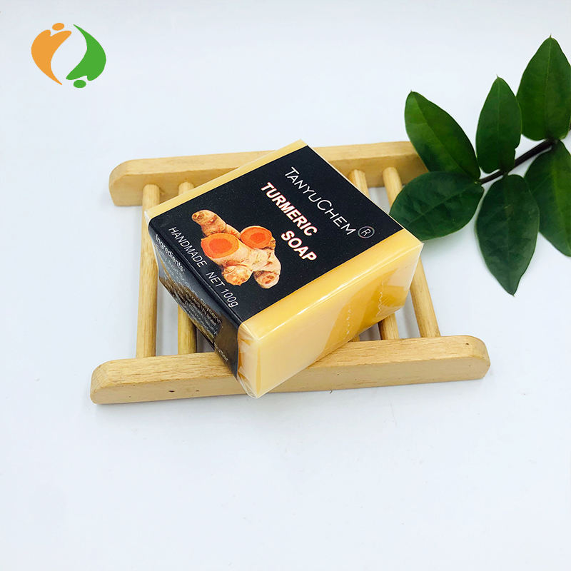 Private Label Herbal Natural Turmeric Soap for Acne Pimples Dark Spots
