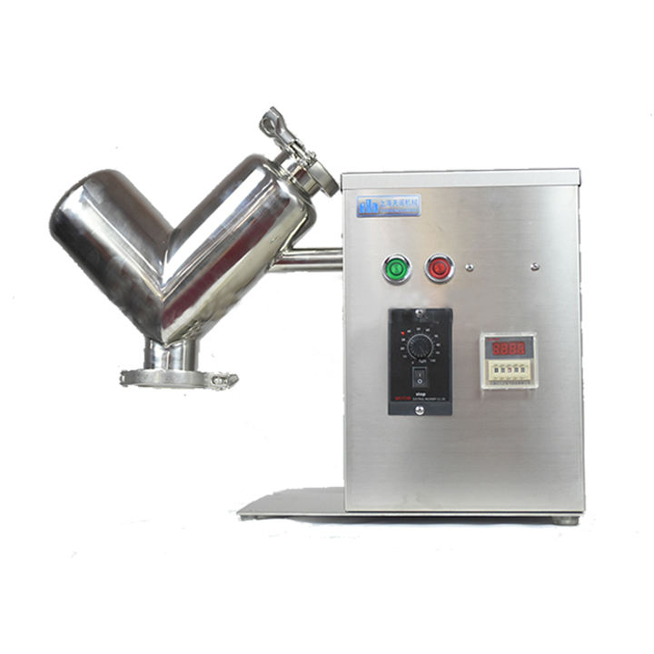 VH-2 lab mini mixer is used for dry powder mixer and mixing machine