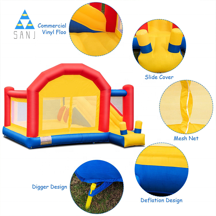 Indoor Small Mini Bouncy Castle Jump Bounce House Inflatable Bouncers For Kids