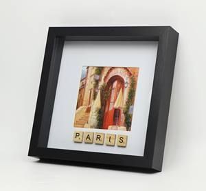 Shadow box photo frame, 9X9