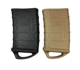 Tactical Rubber Holster 5.56 Fast Mag Pouch Bag airsoft M4 / M16 Magazine Hunting Accessories