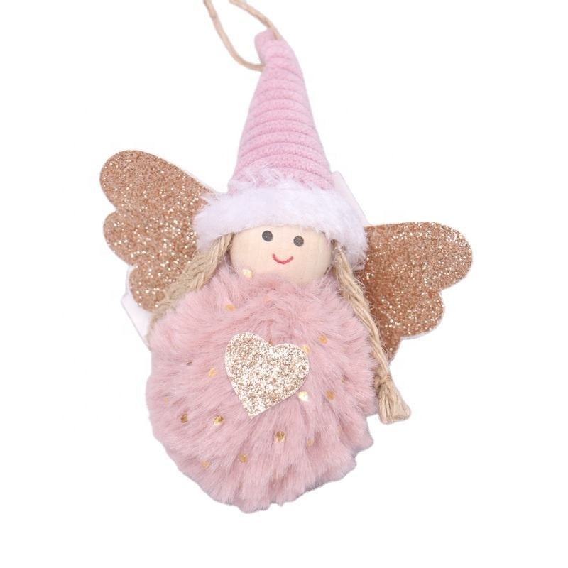 Christmas fabric doll Decorations ornament craft for Holiday Wedding Party Decoration Hook
