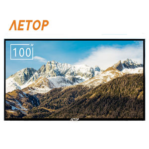 RTS-big size 100 inch flat tv explosion-proof screen Ultra HD android led television 4k smart tv with bluetooth