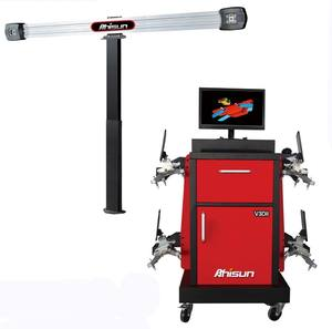 3D WHEEL ALIGNMENT MACHINE, BALANCING MACHINE, V3DII