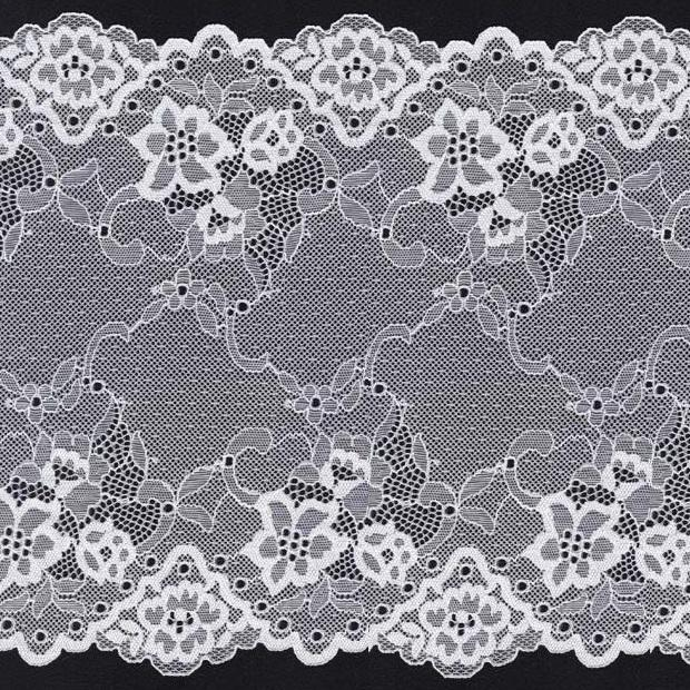 new design wholesale wide elastic lace trim spandex lingerie stretch lace underwear lace nylon french lace wedding lace trim