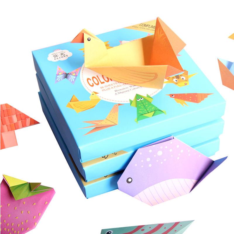 Haute Qualité Couleur Origami Artisanat Papier Pliant En Vente