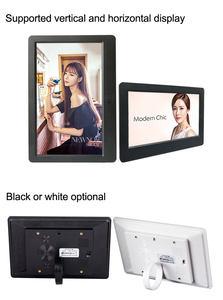 Digital Picture Frame Jpeg Video Photo Frame Digital 7 Inch OEM Small Size Mini LCD Digital Photoframe Electric Photo Picture Frame With Video Loop