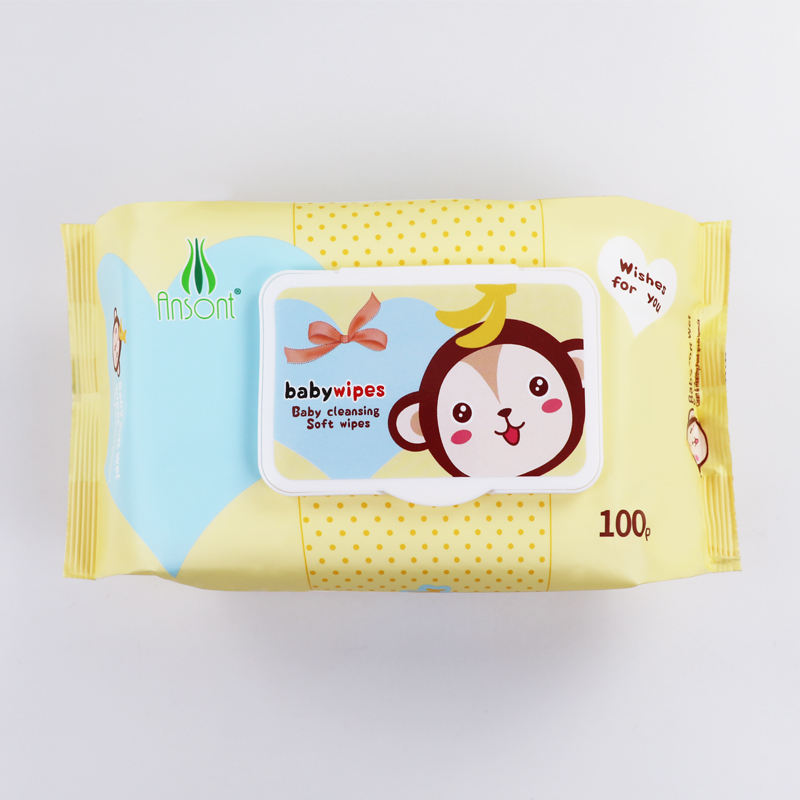 Private Label Organic Pure Water Reusable Biodegradable Sensitive Customized Wet Baby Wipes