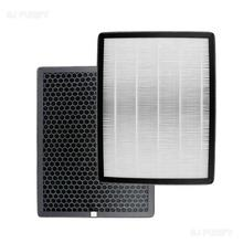 Rectangular H12 activated carbon air purifier hepa filter replacement