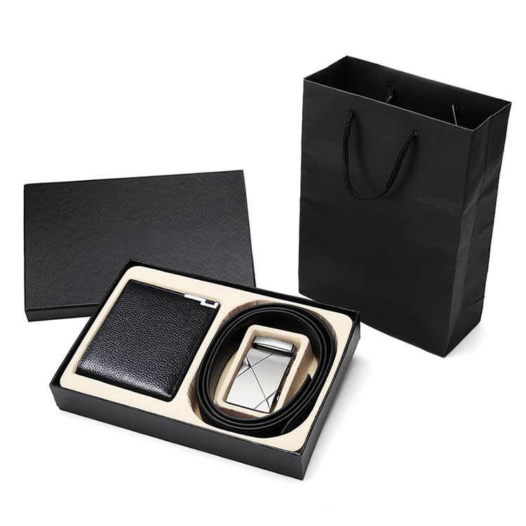 <span class=keywords><strong>дизайнер</strong></span>ский роскошный мужской храповый автоматический раздвижной кожаный бумажник подарочный набор ремней для мужчин
