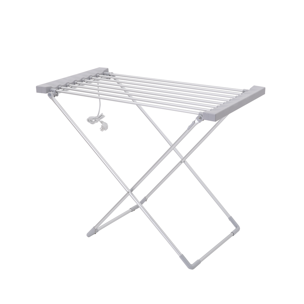Heated Cloth Dryer Electric Folding Clothes Drying Rack For Household