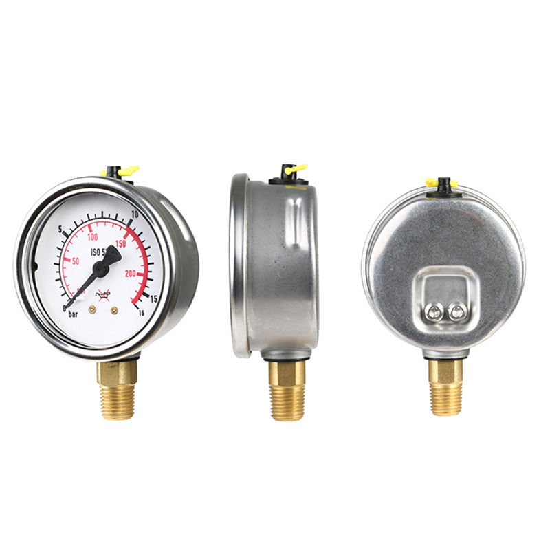 Industrial Instrument Solar Water Heater Pressure Gauge