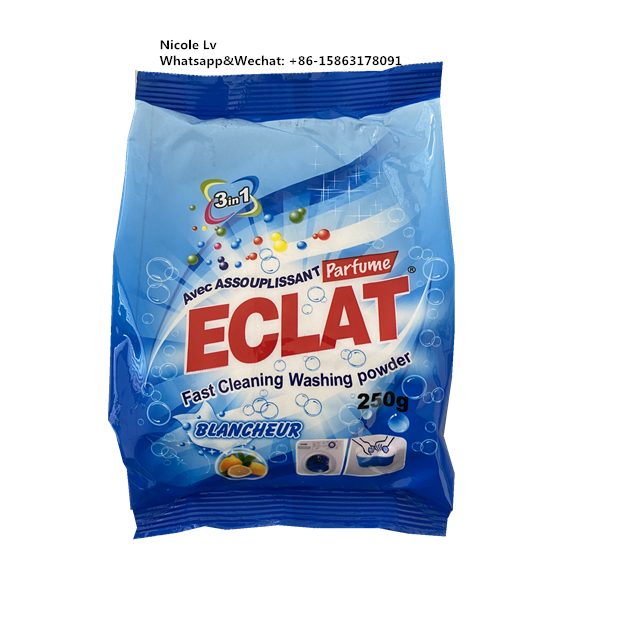 High effective OEM service with customer's own brand laundry detergent washing powder for washing clothes