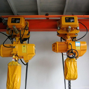 High Performance 1000kg low headroom mini electric chain hoist wholesale