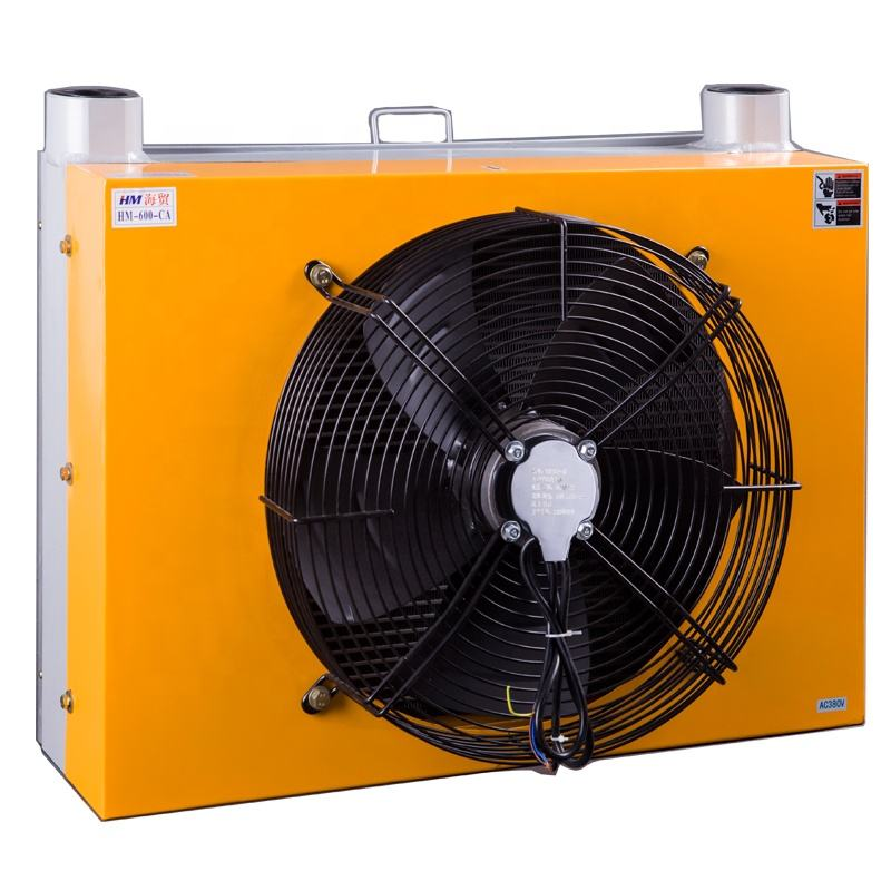 air-cooled oil cooler hydraulic oil cooling system cooler heat exchanger AH 1012 radiator customized size