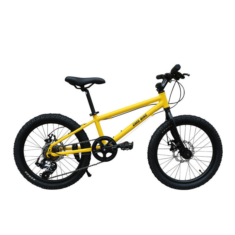 20 Inch Foldable Children Mountain Bike Variable 6 Speed Bicycle Aluminum Alloy 6-12 Years Kids Boys Girls Cycling Accessories