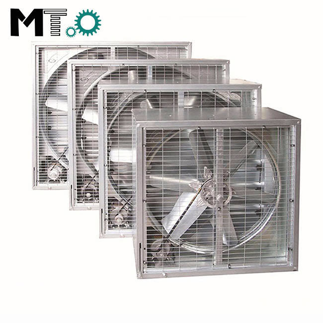 1380 Poultry Farm Industrial Ventilation Fan For Layers
