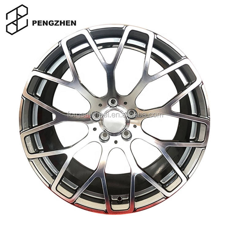 16'' 17'' 18'' Custom forged aluminum wheels 4x100 for Smart Fortwo