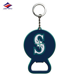 China Manufacture keychains Full Metal Keychain Custom Bottle Opener Metal Llaveros Longzhiyu 13 years