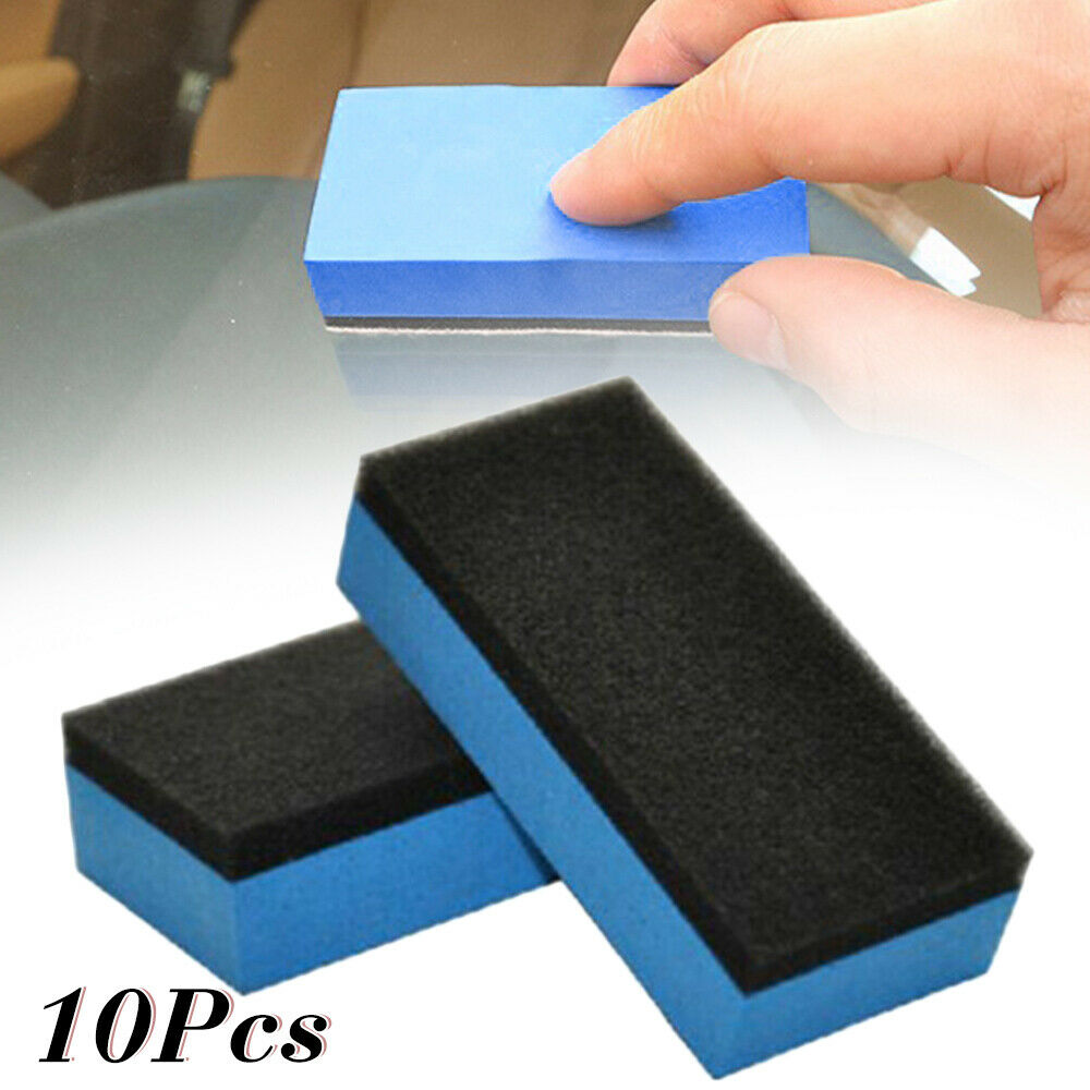 Bonno Hot Koop 10Xcar Keramische Coating Spons Glas Nano Wax Jas Applicator Polijsten