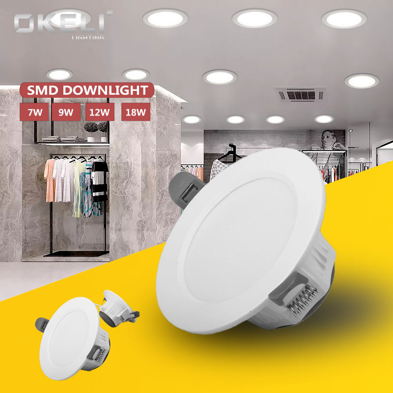 Supplier best price 5w 7w mini led ceiling downlights 230v led recessed down light